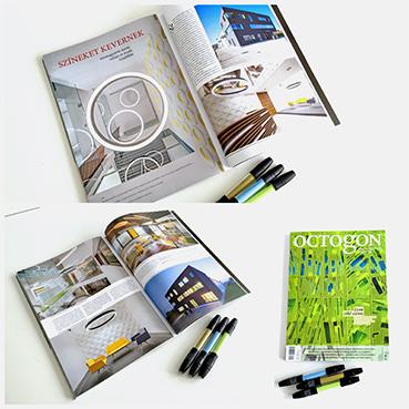 Food Base irodaház az Octogon magazinban | RELOAD Építészstúdió