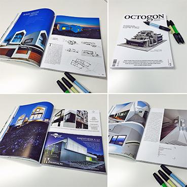 V-Ház az Octogon magazinban |RELOAD Építészstúdió